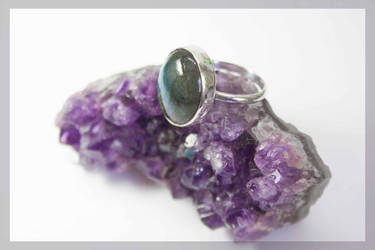 Lebradorite ring by BichoBolita
