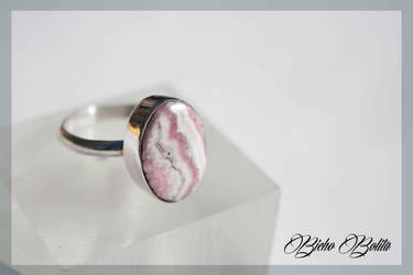 Rodochrosite ring by BichoBolita