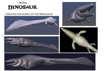 Dinosaur - Mosasaur Digital Render by DracoTyrannus