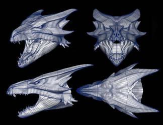 Reign of Fire - Dragon Female by DracoTyrannus