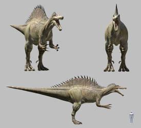 Terra Nova Empirosaur Render by DracoTyrannus