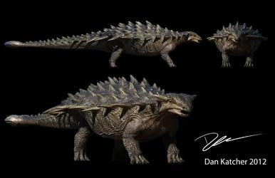 Terra Nova Anklyosaurus by DracoTyrannus