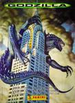 Godzilla '98 on the Empire State Building