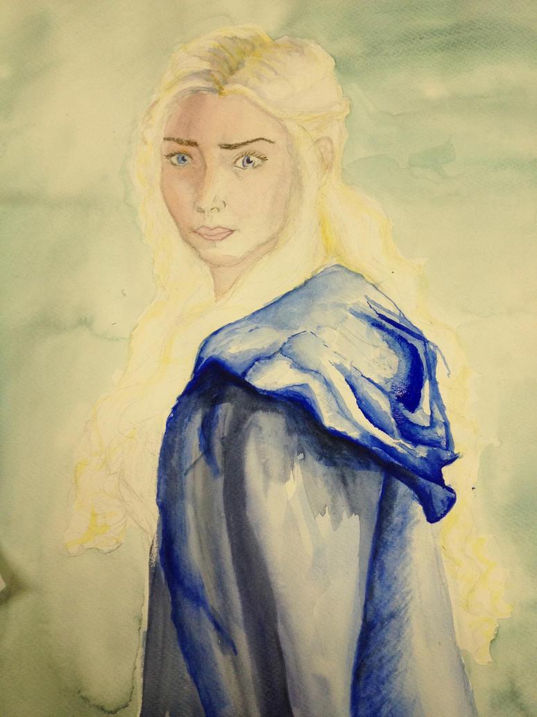 Daenerys Targaryen in Progress by Awlyn