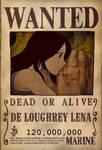 Lenas bounty - One Piece OC