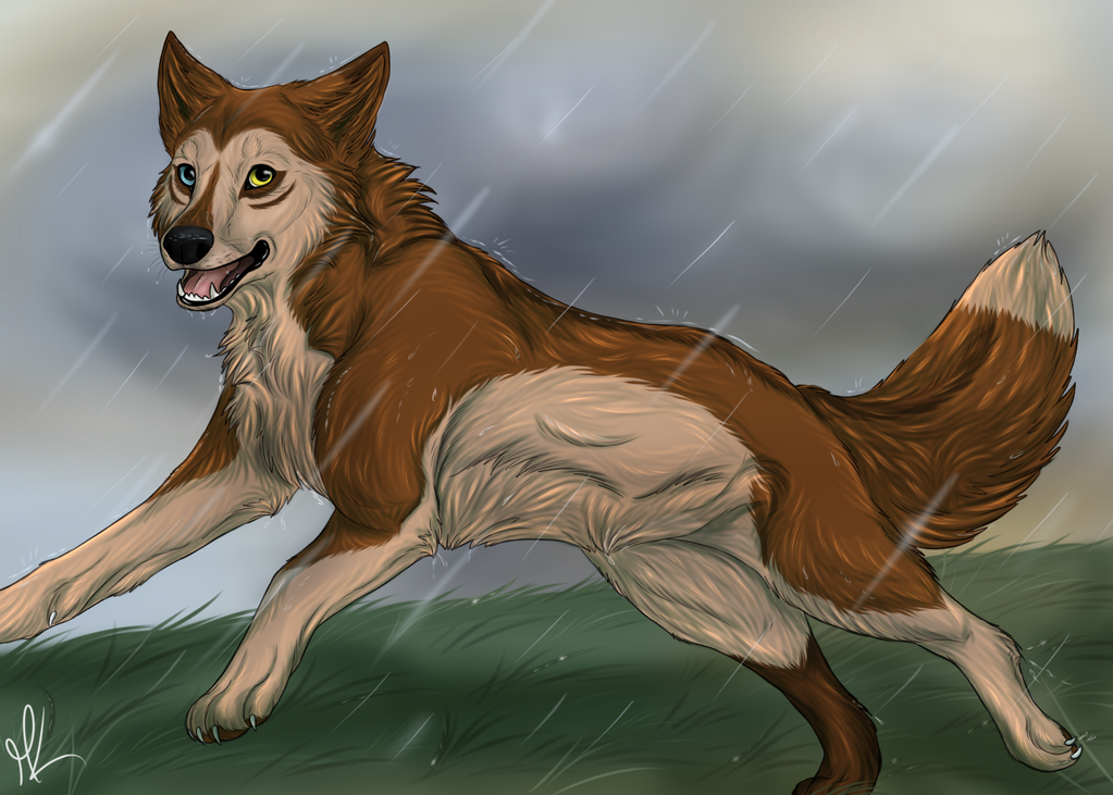 Between the Raindrops by SnowBumbee