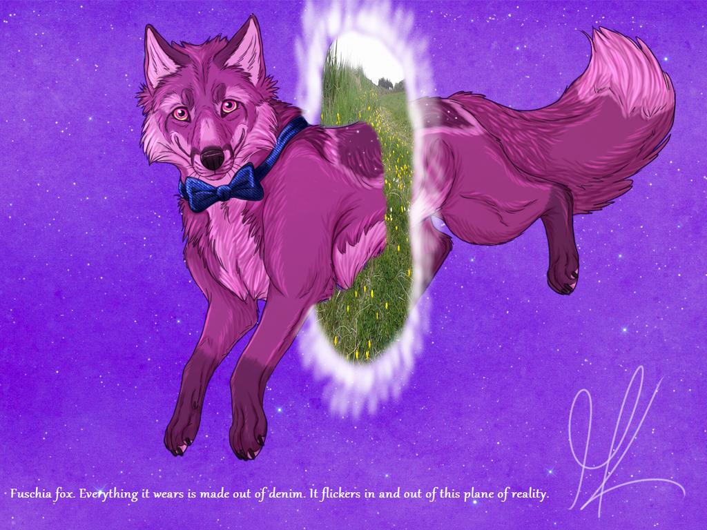 Fuschia Fox by SnowBumbee