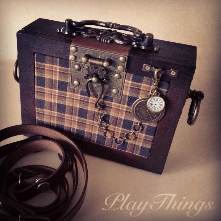 Steampunk Box Purse by VanRoy13