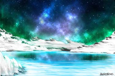 Snowy landscape by SXerosere