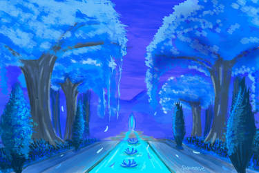 Moonlight lane by SXerosere