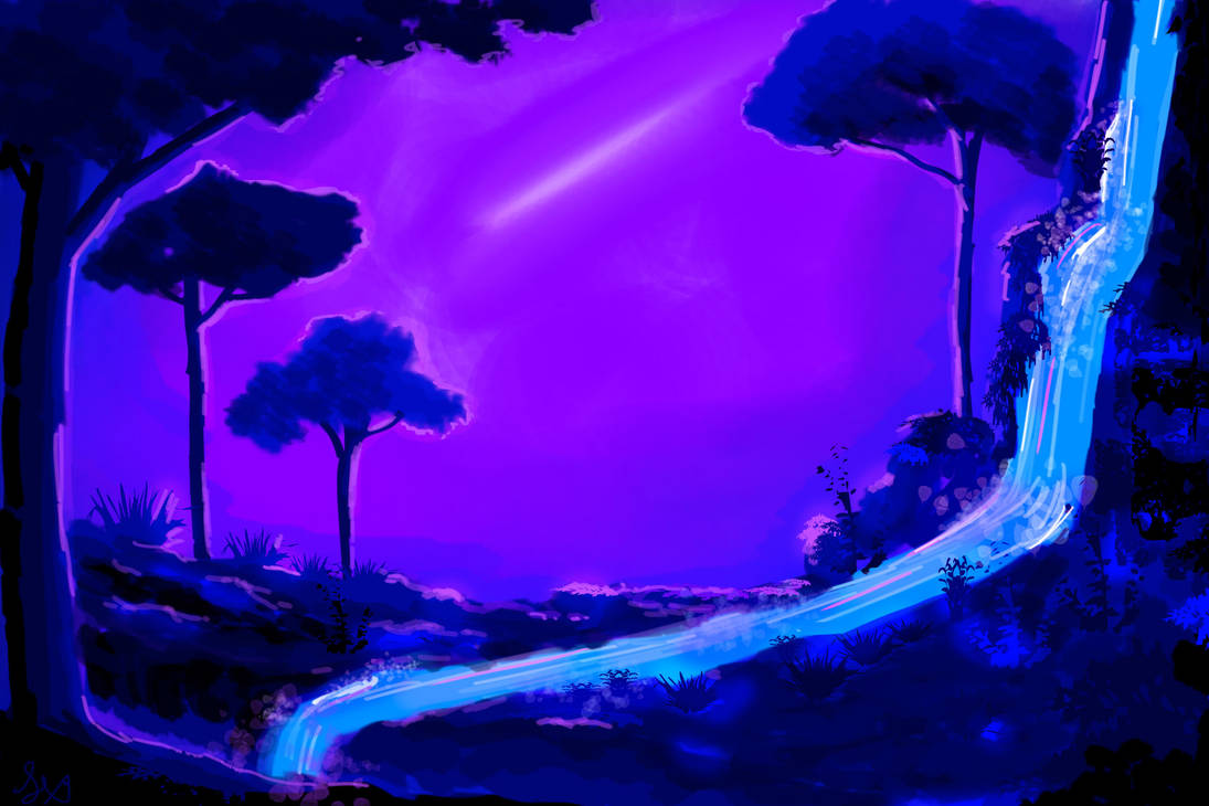 Fantasy landscape by SXerosere