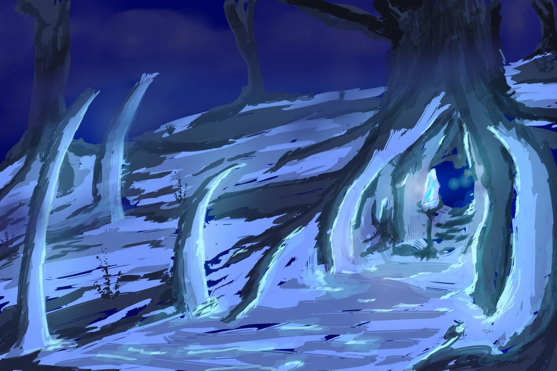 Snow crystal by SXerosere