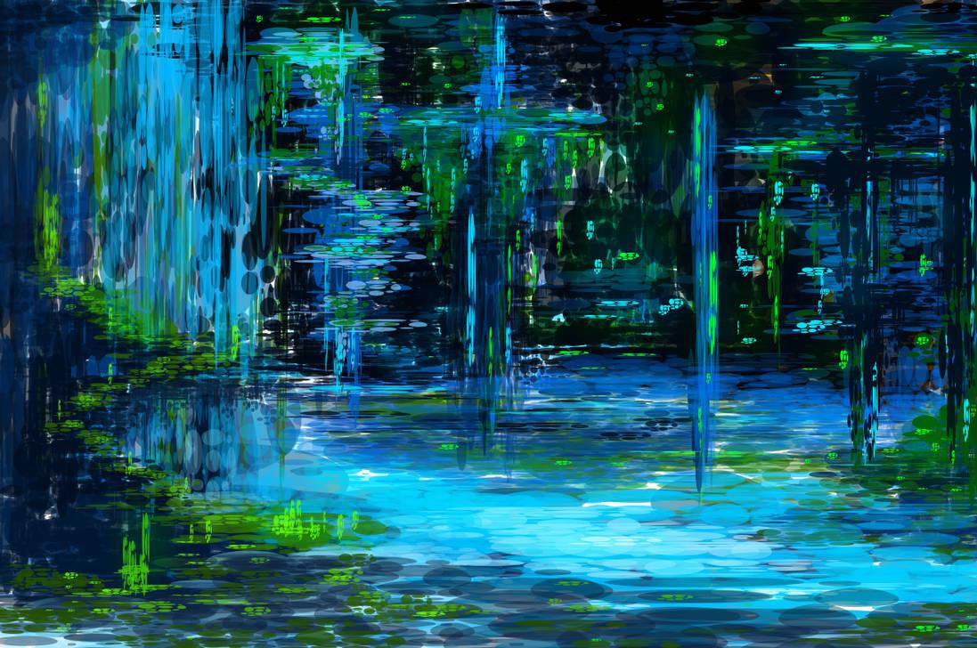 Random fantasy landscape by SXerosere