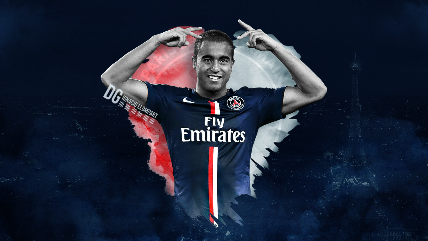 Lucas Moura Wallpaper by igna on DeviantArt