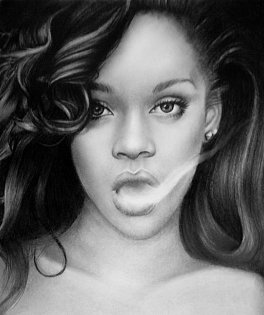 Rihanna by Crystalcoomber