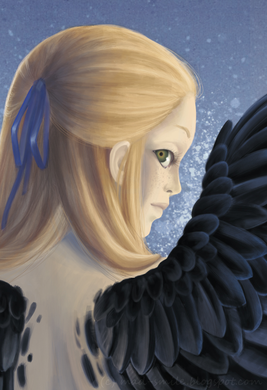 Spreading wings - close-up by mad-smile