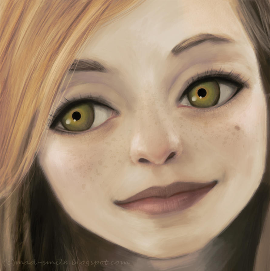 ''realistic'' portrait : Mrgx by mad-smile