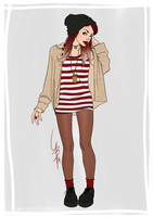 fashion - Lua P by mad-smile