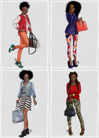 Black girls LOVE fashion by mad-smile