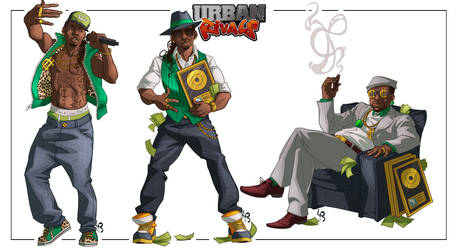 [Urban Rivals] Sean East by mad-smile