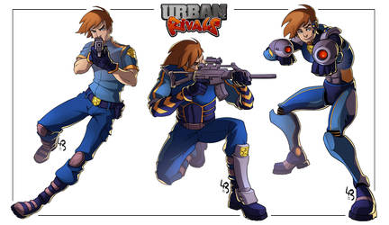 [Urban Rivals] Josh Rb by mad-smile