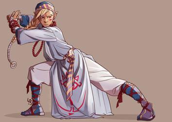 Sheik - Legend of Zelda fanart by mad-smile