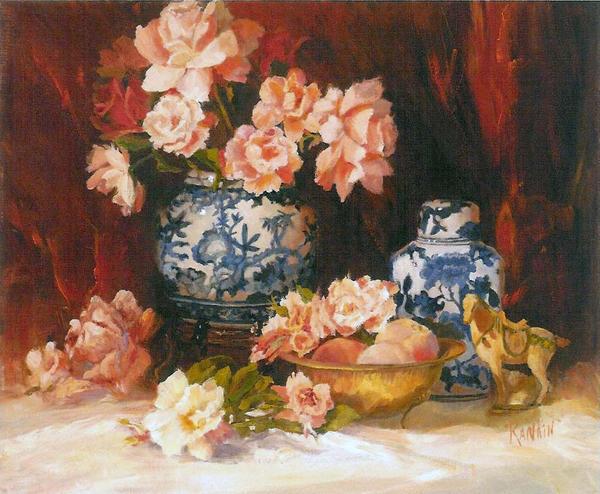 Mrtva priroda Roses_with_Blue_and_White_Porc_by_artaslife