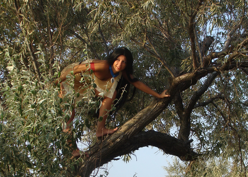 [Sk-W] Pocahontas - Hentai Cosplay