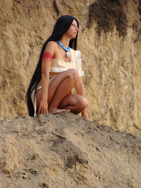 Pocahontas by me by Sk-W