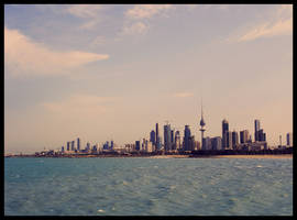 Kuwait's Coast by TheJenjineer