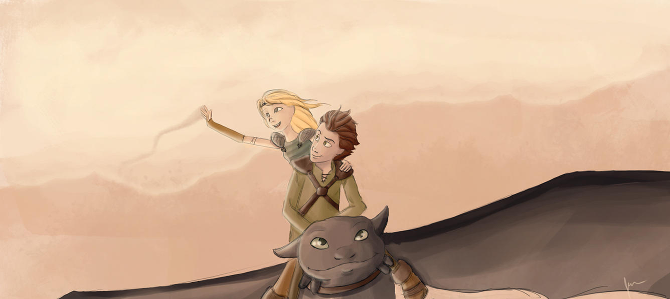 How To Train Your Dragon by TheJenjineer