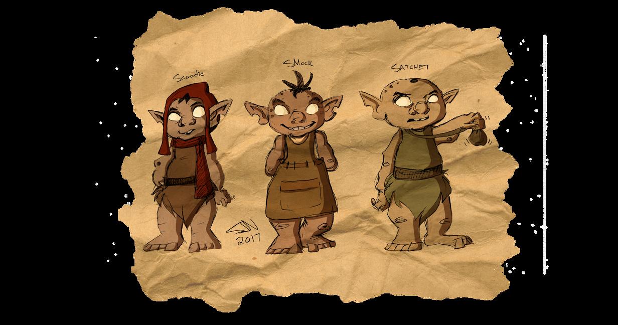 Goblin Trio by TheJenjineer