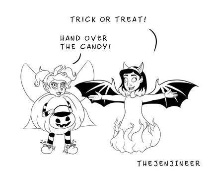 Trick or Treat or Else