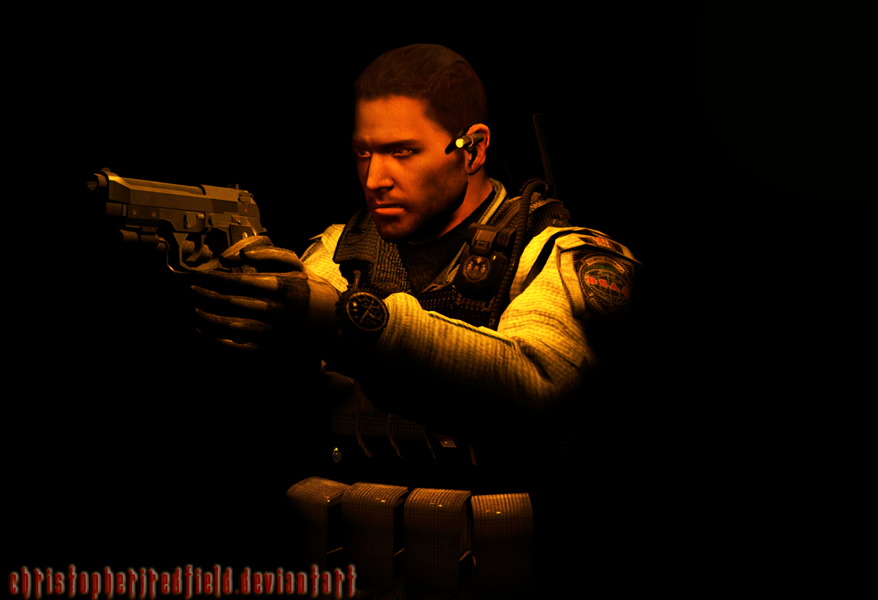 Captain Redfield (Lacking in Clever Titles Lately) by ChristopherJRedfield