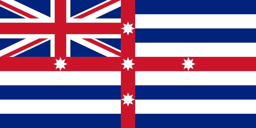 Murray River Flag by SideLine