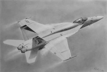 F-18 by imclod