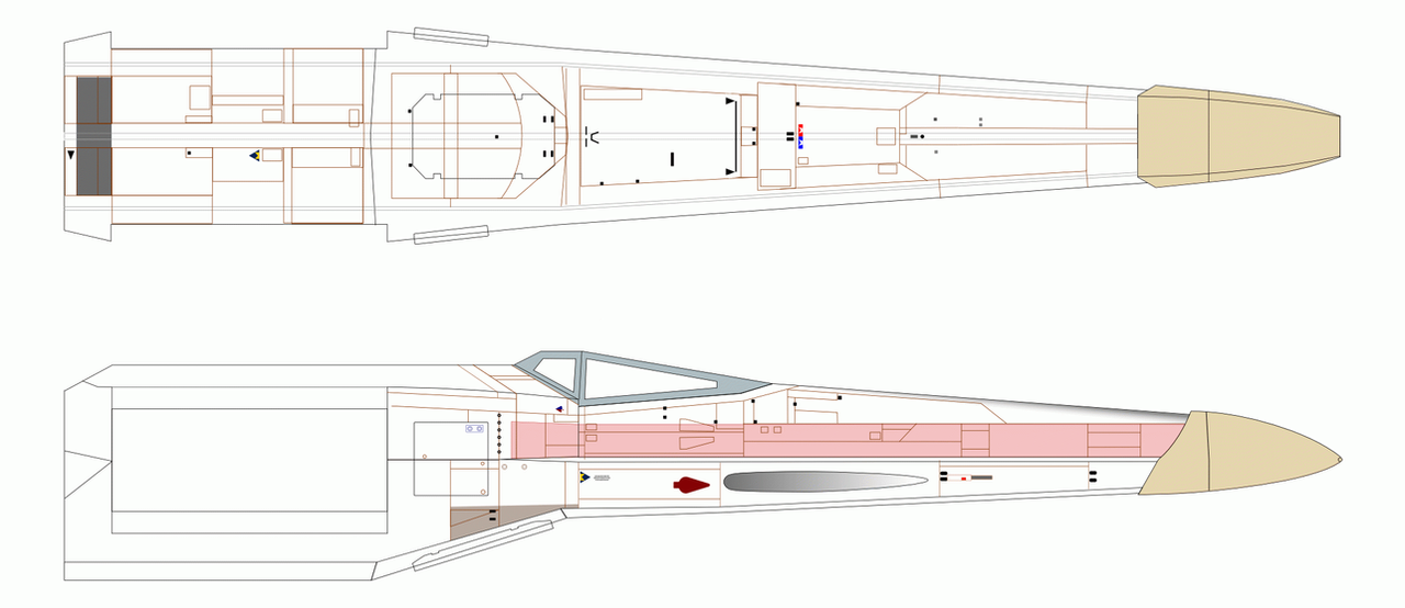 X wing blueprint wip by imclod on deviantart x wing blueprint wip by imclod malvernweather Images