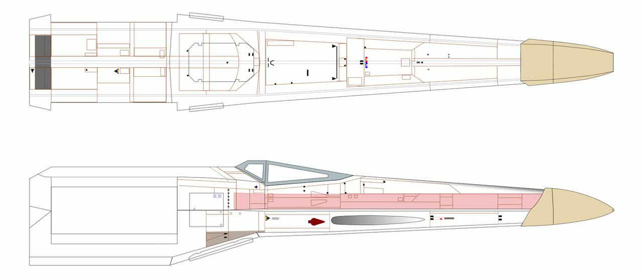X wing blueprint wip by imclod on deviantart x wing blueprint wip by imclod malvernweather Gallery