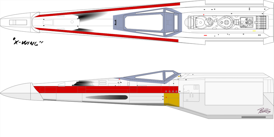 X wing blueprint wip 2 by imclod on deviantart x wing blueprint wip 2 by imclod malvernweather Gallery