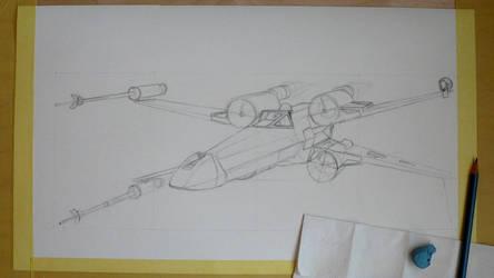X-wing wip 1