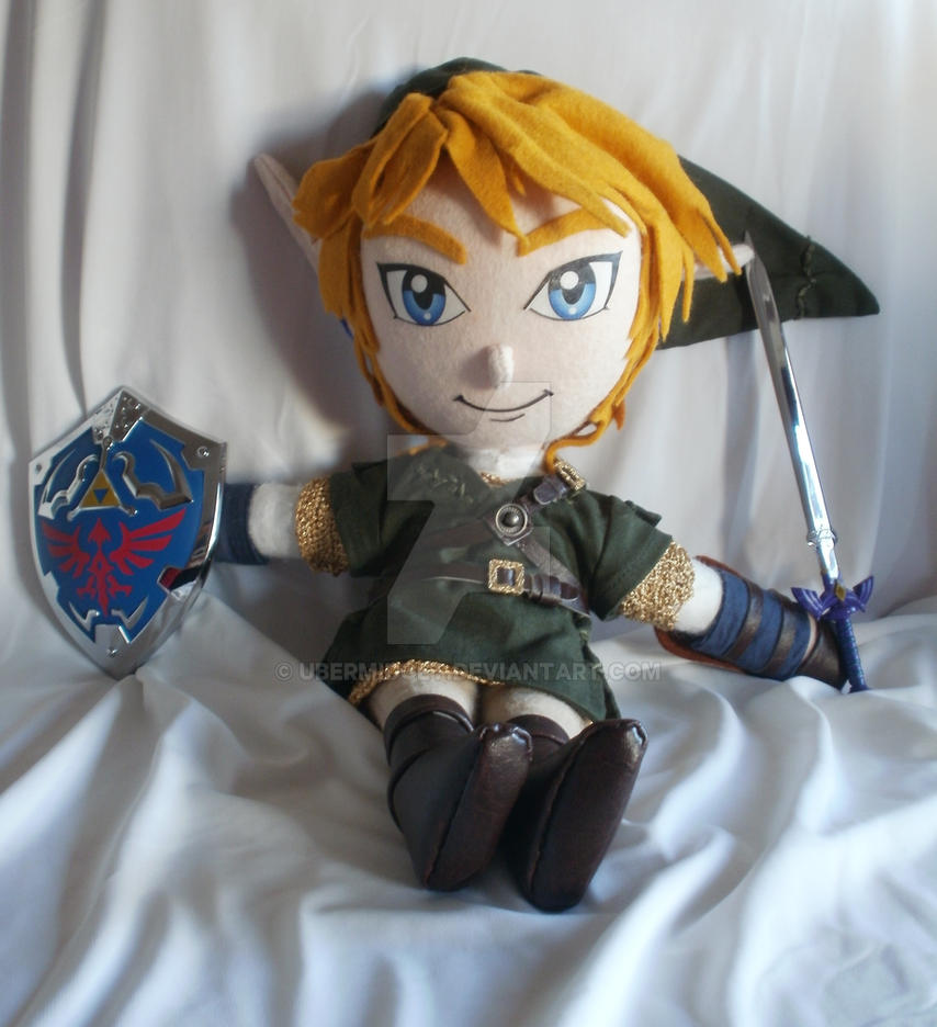 Link Twilight Princess doll by Ubermidget