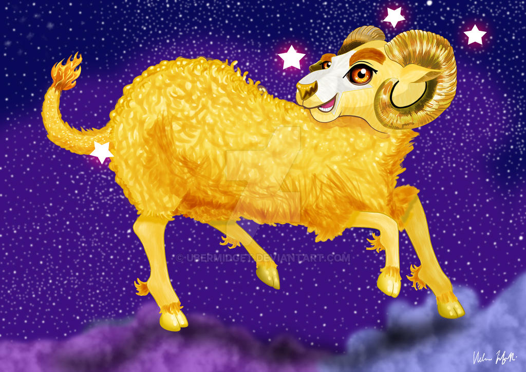 Aries the Ram by Ubermidget