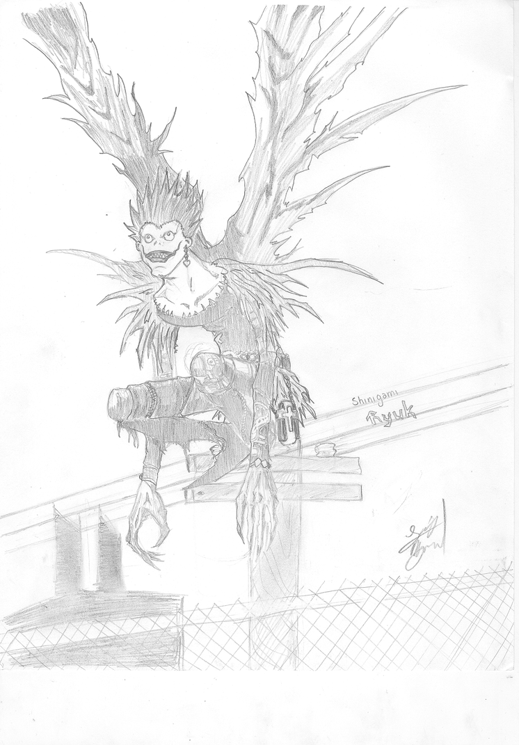 death note - Ryuk by luiguiboy on DeviantArt