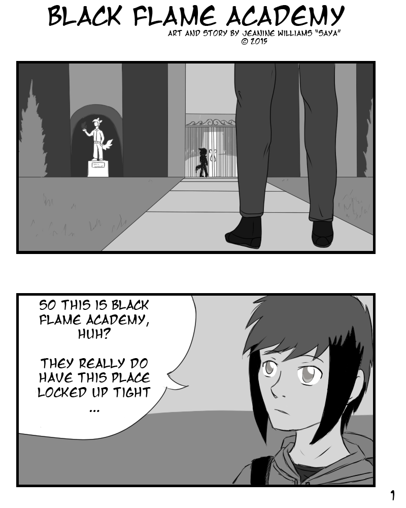 Black Flame Academy - Page 1 by x-Short-Hilt-x