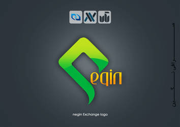 negin exchange logo by mohsenfakharian