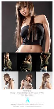 girl Portraits 5700x8500 pix