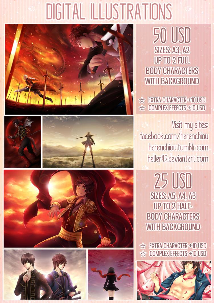 Digital Illustration guide by Heller45