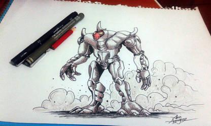 robot by Asimetrikfantastik