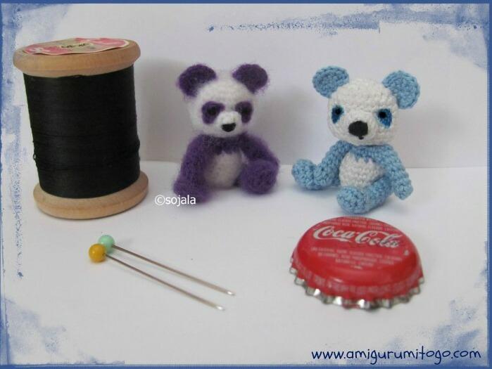 Miniature Panda Bears by sojala