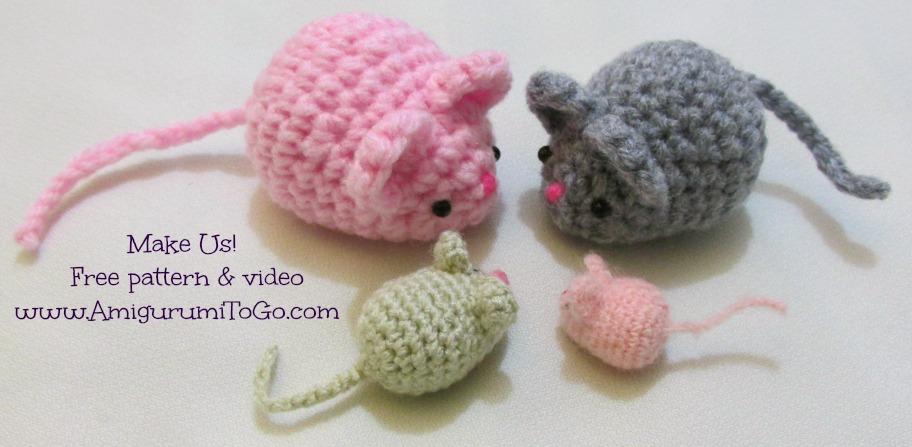 Free Amigurumi Crochet Patterns Mouse : Crochet Mouse Free Pattern by sojala on DeviantArt